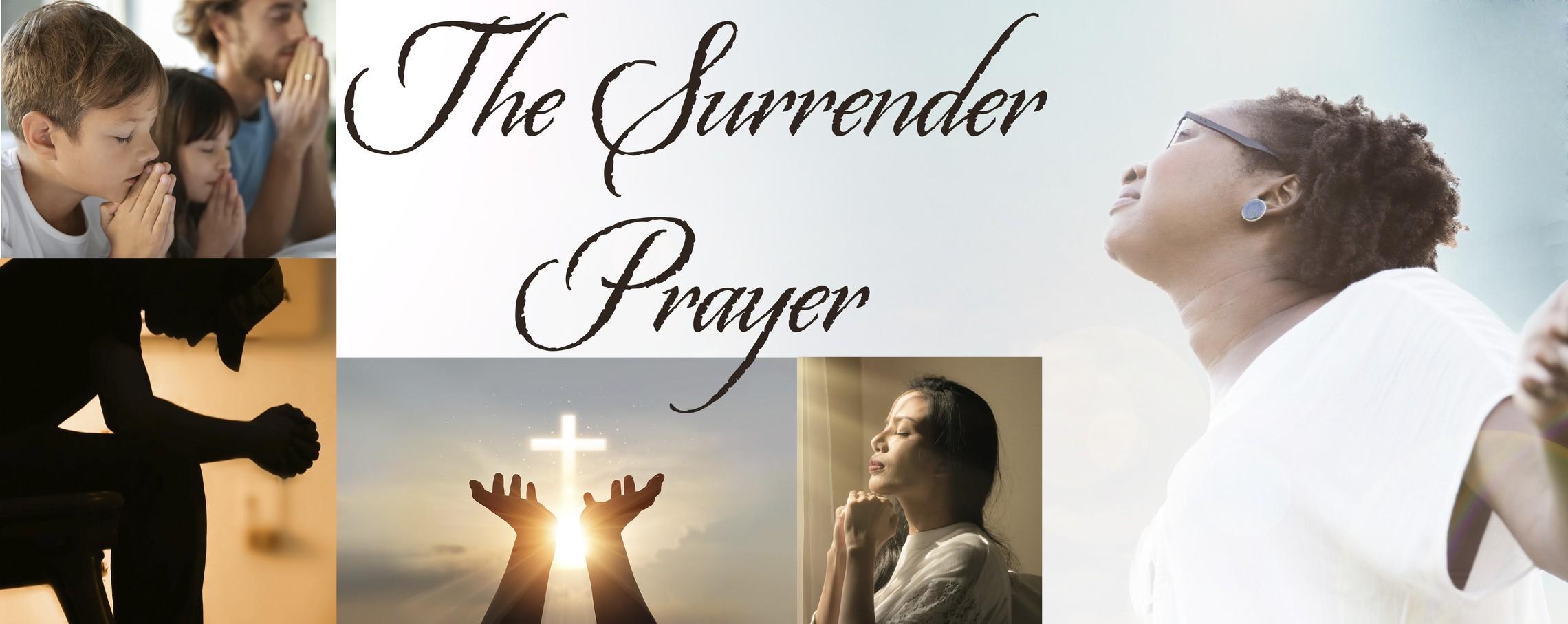 Surrender Webpage Banner
